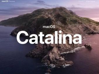 Sinnbild für macOS 10.15 Catalina
