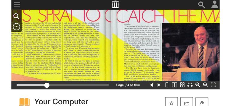 Ein Bericht über die Veröffentlichung des Atari ST durch Jack Tramiel. Aus der Your Computer 04/1985