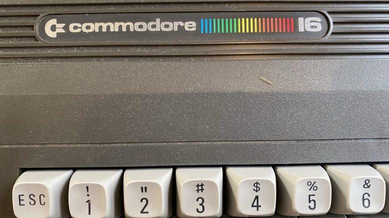Logo des Commodore C16