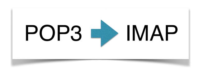 Vorteile von IMAP gegenüber POP3