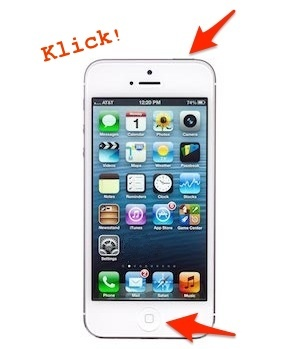 Quicktipp: Screenshot am iPhone erstellen