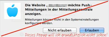 Safari Push Notifications