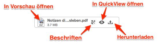 Evernote PDF Anlage