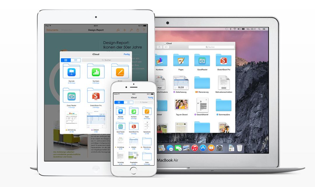 Sucht nicht danach, eine iCloud Drive App für iOS gibt es nicht