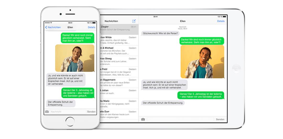 SMS-Weiterleitung