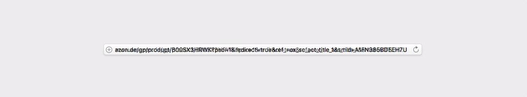 Probleme mit der URL-Zeile in Safari?