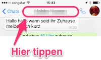 WhatsApp Chat sichern