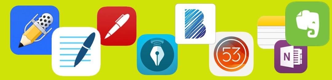 """Die Suche nach der """"richtigen"""" App für handschriftliche Notizen"""