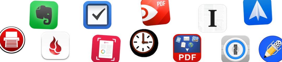 Das papierlose Büro und meine wichtigsten Apps dafür