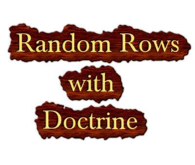 random rows with doctrine
