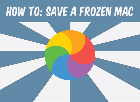 recover from frozen mac