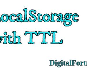 LocalStorage with TTL (Time to expiry)