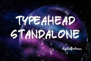 Typeahead standalone