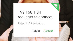 airdroid Accept Request
