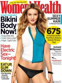 White-Women's Health-Rosie Huntington