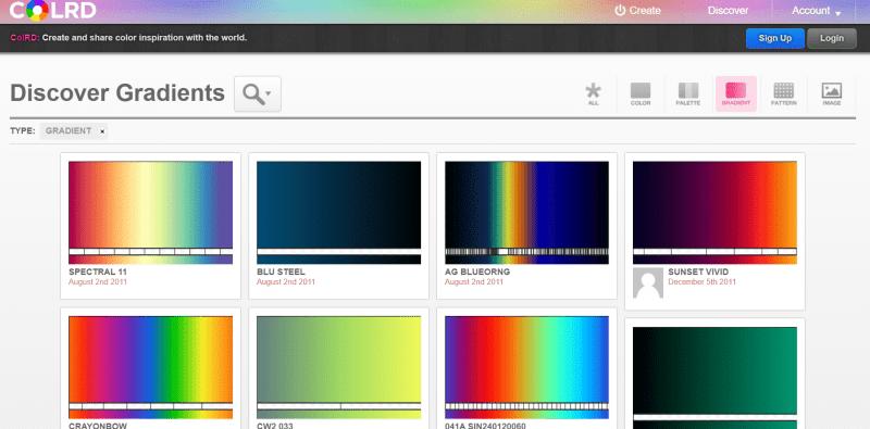 colrd gradients