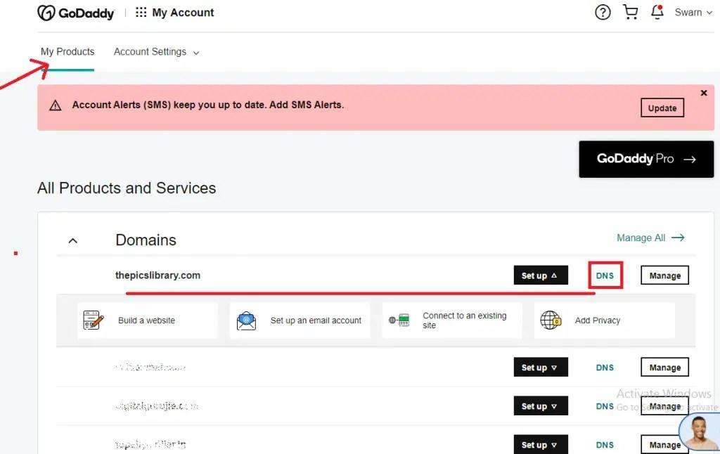 domain ko hosting se kaise connect kare
