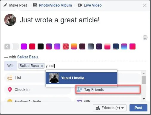 The 3 Most Important Ways to Tag Someone on Facebook Facebook Who Were You With Feature