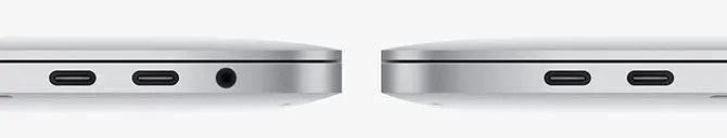 macbook ports - MacBook Pro connectors