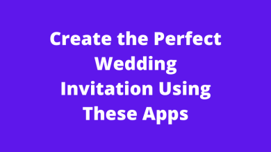 Create the Perfect Wedding Invitation Using These Apps