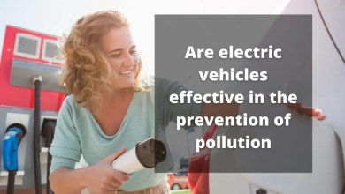 are electric vehicles effective in the prevention of pollution