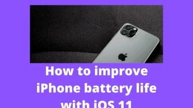 How to improve iPhone battery life with iOS 11