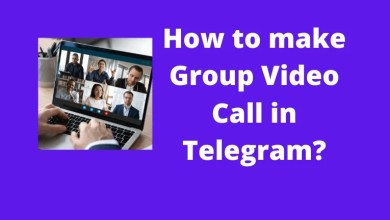 How to make Group Video Call in Telegram?