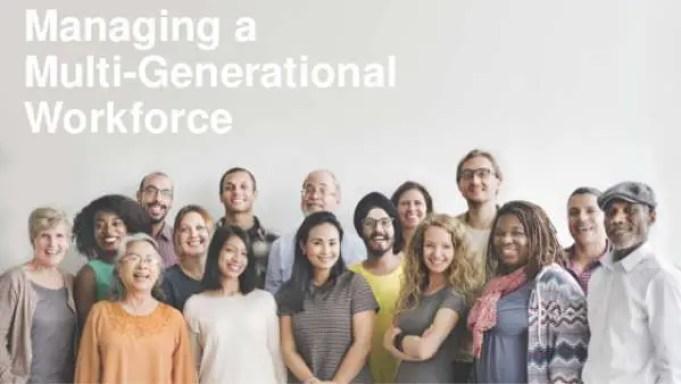multi-generational workplace