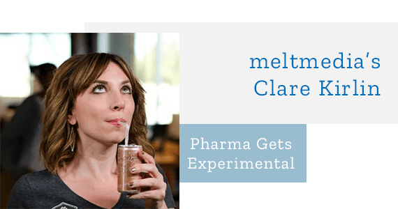 Clare Kirlin - Pharma Gets Experimental