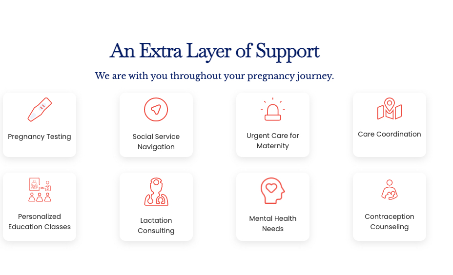 Services Provided Cayaba Care Maternal Health Digital Health