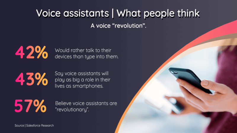 What do people think of voice assistants / virtual assistants?