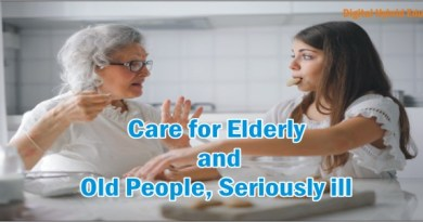 Care for Elderly and old People, Seriously ill