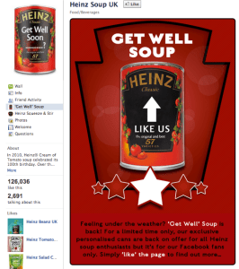 Heinz Soup UK 'Get Well' campaign
