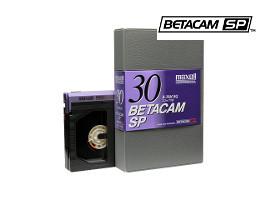 BetacamSP professionele videobanden digitaliseren