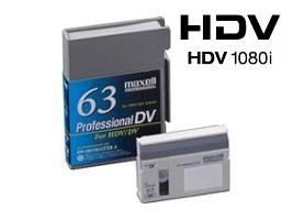 HDVprofessionele videobanden digitaliseren