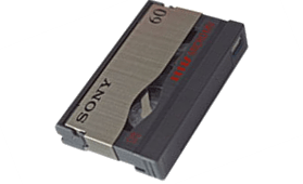 MicroMV videobandjes digitaliseren