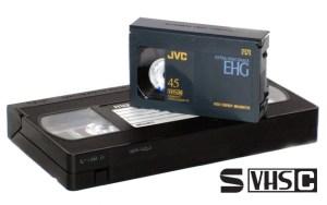 S-VHS-C videocamera bandjes digitaliseren