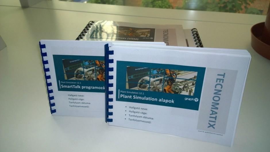 Plant Simulation alap tanfolyam, SmartTalk tanfolyam, programozás tanfolyam és VSM tanfolyam