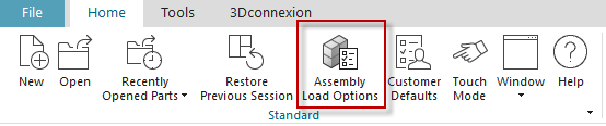 Assembly load option