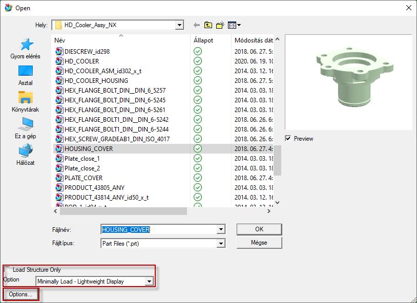NX Nagyméretű összeállítások