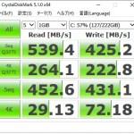 9ヶ月使い続けたSSD、速度低下していないかチェックしてみた