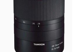 フルサイズ用のEマウントズームレンズ、タムロン28-75mm F/2.8 Di III RXDが良さげ