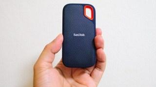 SanDiskのポータブルSSD(外付けSSD)、容量1TBが1.9万まで値下がりしてきた