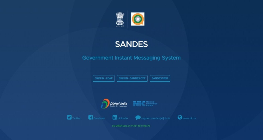Sandes App Download - Government of India Launched New Instant Messaging Platform