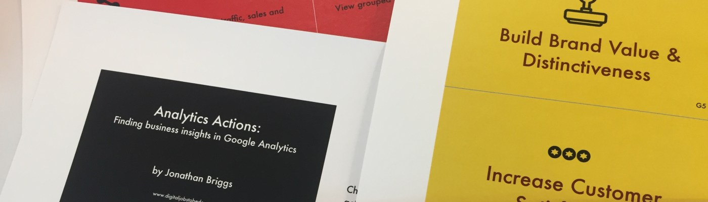 Google Analytics Cards