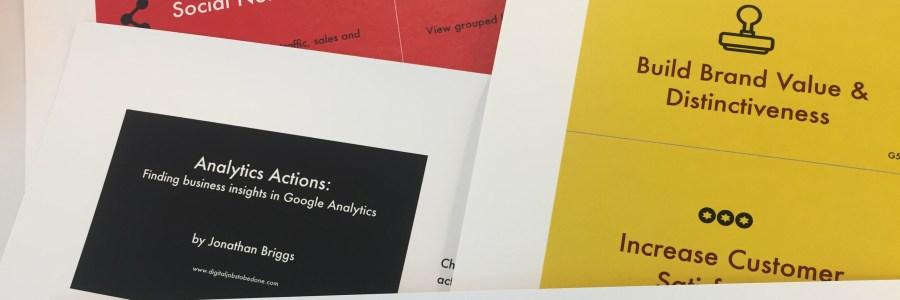 Google Analytics Cards