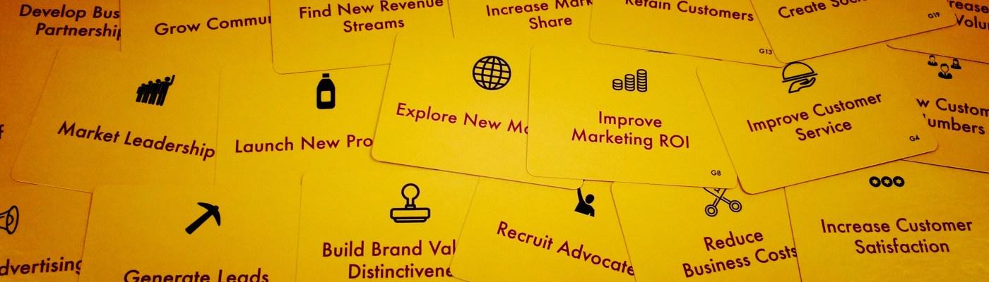 Yellow Analytics Cards