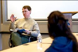 Assistant Professor of Journalism Mike Stanton