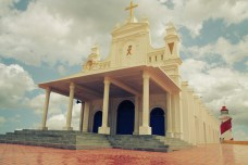 Manapad , India , church , Tuticorin , Beach , Christian