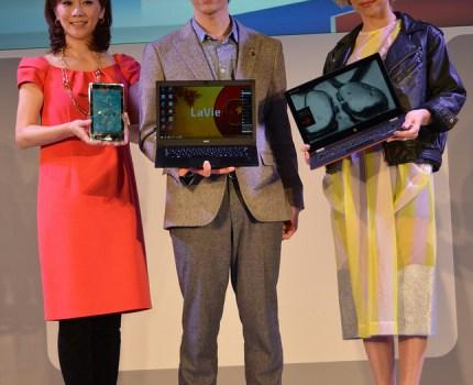 [PR] NECxLenovo PC+でスマートライフイベントでDaiGo・木佐彩子・BENIさんのトークセッションとタッチ&トライ